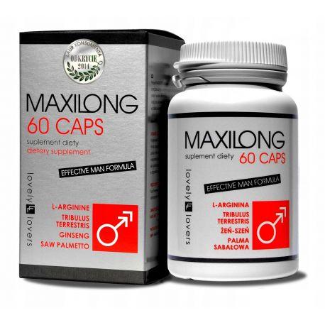 Maxilong - tabletki powiększające penisa