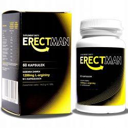 ErectMan tabletki zwiększające erekcje, kuracja na potencje