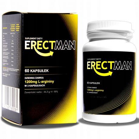 ErecyMan tabletki zwiększające erekcje, kuracja na potencje