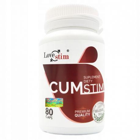 CumStim - tabletki zwiększające wytrysk, mocna erekcja, obfite nasienie
