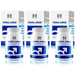 PENILARGE Tabletki na powiększenie penisa 180tab (2+1 Gratis)