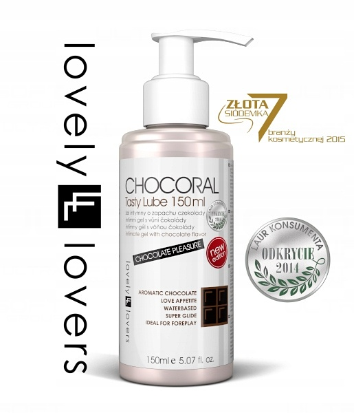 lovelylovers gel-chocoral 150ml emag 18