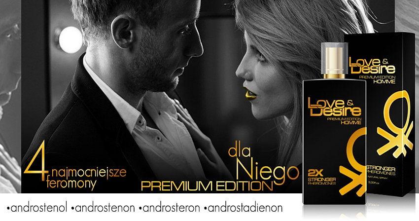 Love Desire premium - 4 najmocniejsze feromony w podwójnej dawce